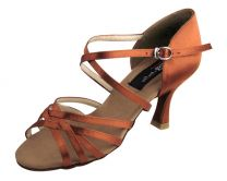 Dark Tan Satin