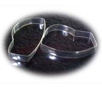 Clear Plastic Strips